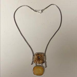 JKL designer 925 necklace